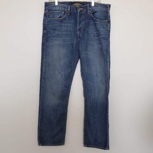 Lucky Br 121 Heritage Slim Button Fly Jeans 34x30